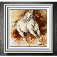 Decorative Horse Oil Painting