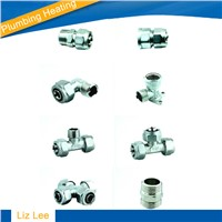 Brass Compression Fittings for Pex-Al-Pex Pipe