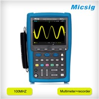 MS410IT automotive digital oscilloscope 100MHz with multimeter