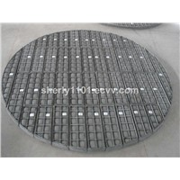TOP.1 PP mist eliminator demister pad For air oil separator China manufacturer