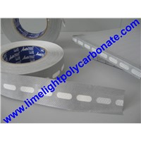 anti dust tape for polycarbonate sheeting/PC sheet/twinwall polycarbonate/multiwall polycarbonate