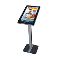 21.5 inch floor standing touch screen kiosks, all in one pc