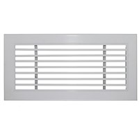 Central air conditioner aluminum linear grille for HVAC systems