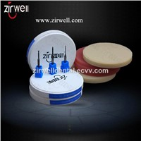 Dental  zirconia block/pmma/wax compatible with CAD/CAM system