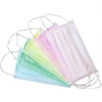 Disposable Nonwoven 3-ply Surgical Medical Face Mask with Ties or Earloop/ Doctor Surgical Masks