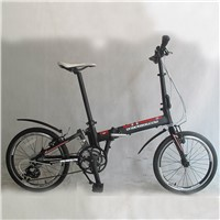 OEM customer logo design aluminum folding bicycle bike
