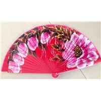 Hand Painted Spanish Wood Fan for Events