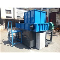 advanced technology Powerful Waste Plastic Shredders 200-3000kg/h Single Shaft Shredder Machine