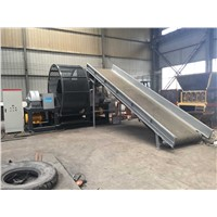 truck tires recycling machine line /waste tire shredder machine /tyre shredder