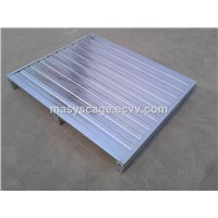 Metal steel pallet pallet in blue color steel pallet stroage equipment
