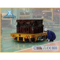 rail transfer vehicle car for steel slag