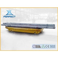 10t grinding roll transfer cart on steel rails