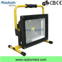 50W Flood Light Fitting with Portable LED Floodlight