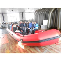 8.5m for 30person CE inflatable boat, rescue boat, aluminum boat, RIBs, sport boat
