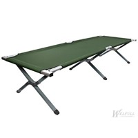 Green Fold up Portable Camping Military Bed