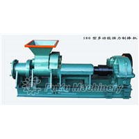 High capacity TF-180 coal rods extruder from factory