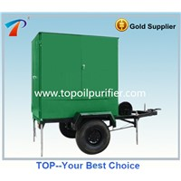 Mobile type Insulating Oil Purifier Oil Treatment System