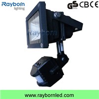 Outdoor 10W 20W 50W Motion Sensor PIR LED Flood Light