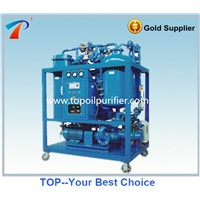 Waste Turbine Oil Purifier Oil Filtering Oil Recycling Machine