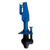 vertical slurry sump pump