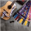 Custom Guitar Strap with Sublimation Print Logo