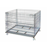 Weld fold storage galvanized zinc wire basket