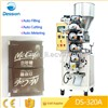 Automatic cup measuring coffee sugar packing machine for granule