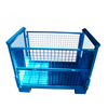 Industrial storage box wire mesh container pallet