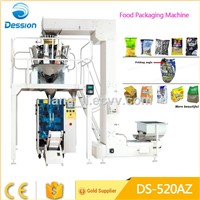 Banana Chips 10 heads vertical packing machine with Automatic system
