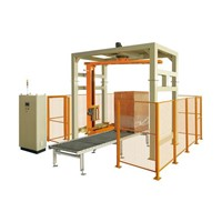 Fully Automatic Online Pallet Wrapper