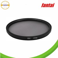 High quality camera filter nd, optical glass and aluminum alloy camera lens filter