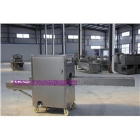 The latest technology onion root cutting machines for product factory
