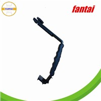 Adjustable Double L-shaped Metal Camera Flash Arm Holder Bracket, black and metal flash bracket