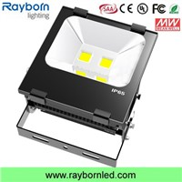 400W Metal Halide Replacement Light COB 100W LED Flood Light
