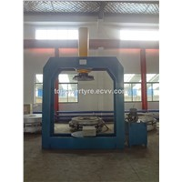 Solid tyre press machine
