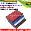 classic hdd case 2.5inch hdd enclosure usb 2.0 to sata