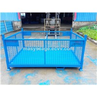 Collapsible Steel Wire Mesh Warehouse Stillage Storage Box