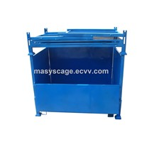 Heavy-Duty Industrial Storage Stackable Cage Steel Cage Bin