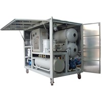 0-6000L/Hr Transformer Oil Purifying Machine