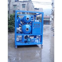 Double Stages Vacuum Stages Insulating Oil Purifier Waste Transformer Oil Recycling Machine