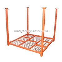 Collapsible Stack Steel Post Pallet for Transportation