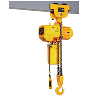 Electric Chain Hoist with Manual Trolley