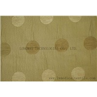 Flame retardant Jacquard fabric for curtain or drapery