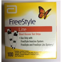 Freestyle Lite Blood Glucose 100ct Test Strips
