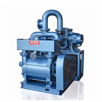 Roots Blower with Double Stage Water Ring Pump Vacuum System