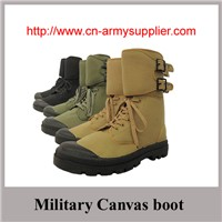 Wholesale Cheap China Camouflage Military Canvas boot