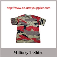 Wholesale Cheap China Camouflage Military T-Shirt