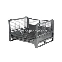 Collapsible Equipment Roll Metal Storage Stillage Cage Gitter Boxes