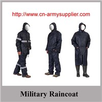 Wholesale Cheap China Camouflage Military Raincoat