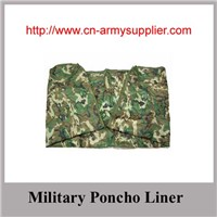Wholesale Cheap China Camouflage Poncho Liner